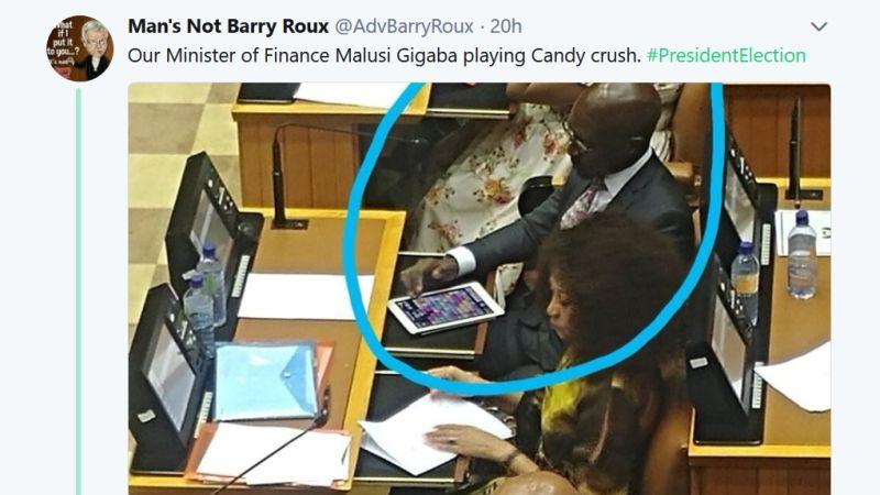 malusi gigaba candy crush twitter advbarryroux