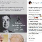 sylvester stallone death hoax instagram