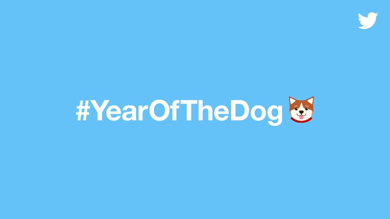 Twitter celebrates #YearOfTheDog with a shiba inu emoji