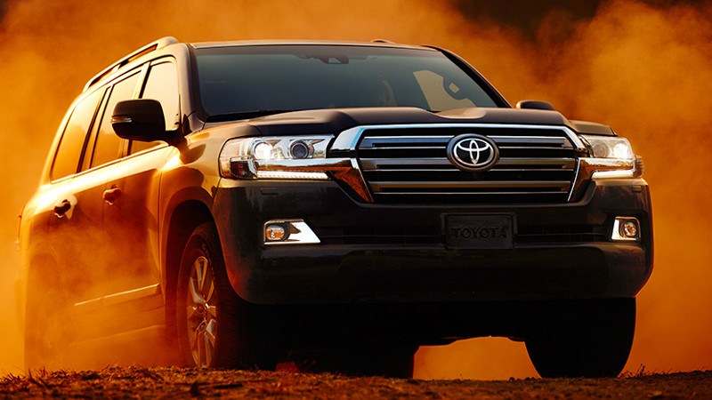 toyota landcruiser again sponsored
