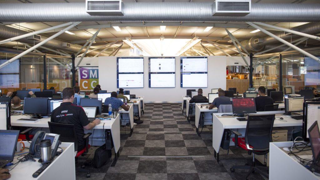 vodacom Social Media Command Centre cape town
