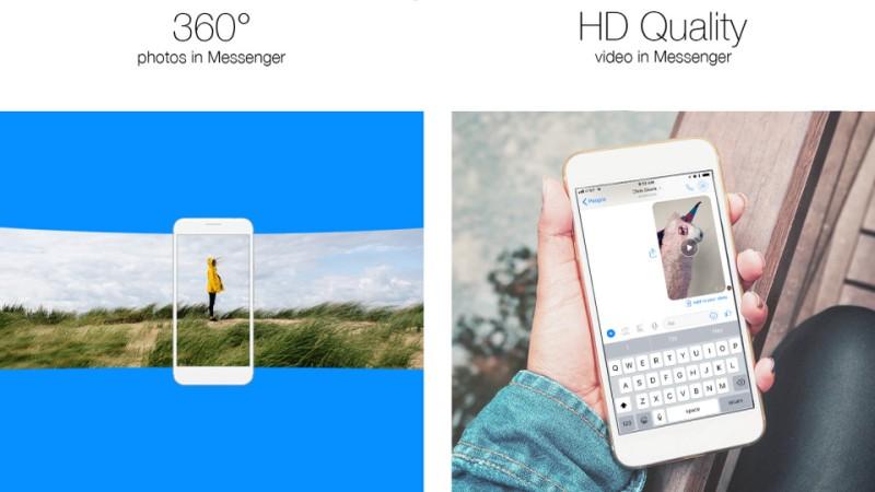 facebook messenger 360 video hd video