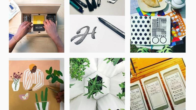 instagram @design account