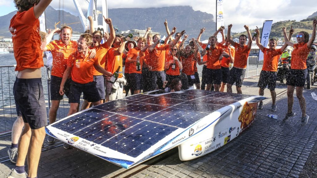 sasol solar challenge 2016 nuon winners