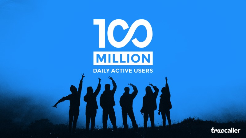 truecaller 100 million users
