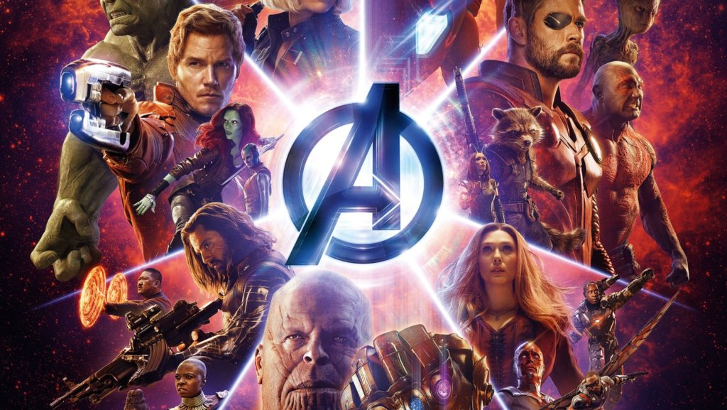 avengers infinity war poster black panther