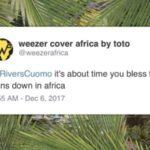 weezer africa cover art