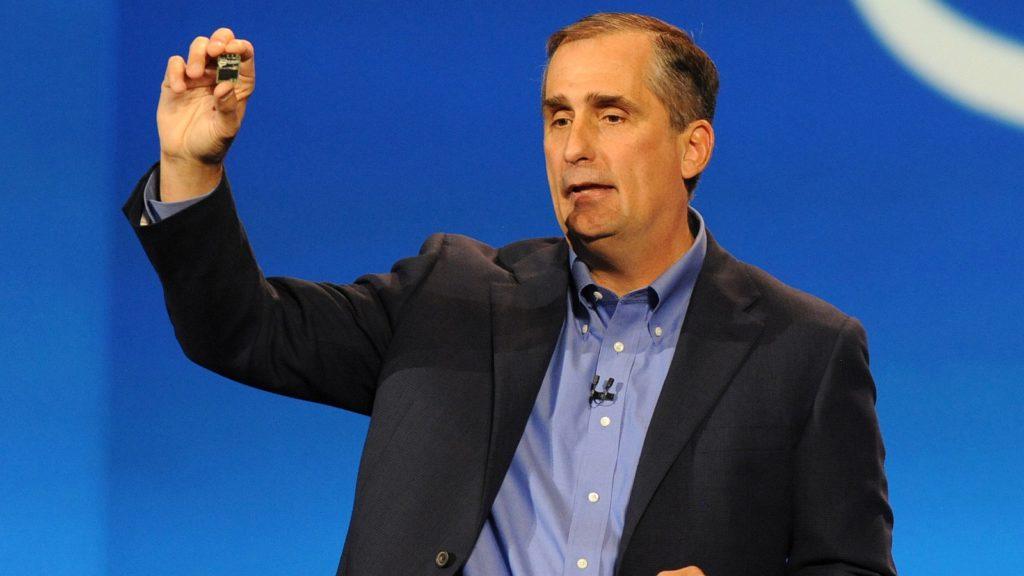Brian Krzanich Intel intel free press flickr