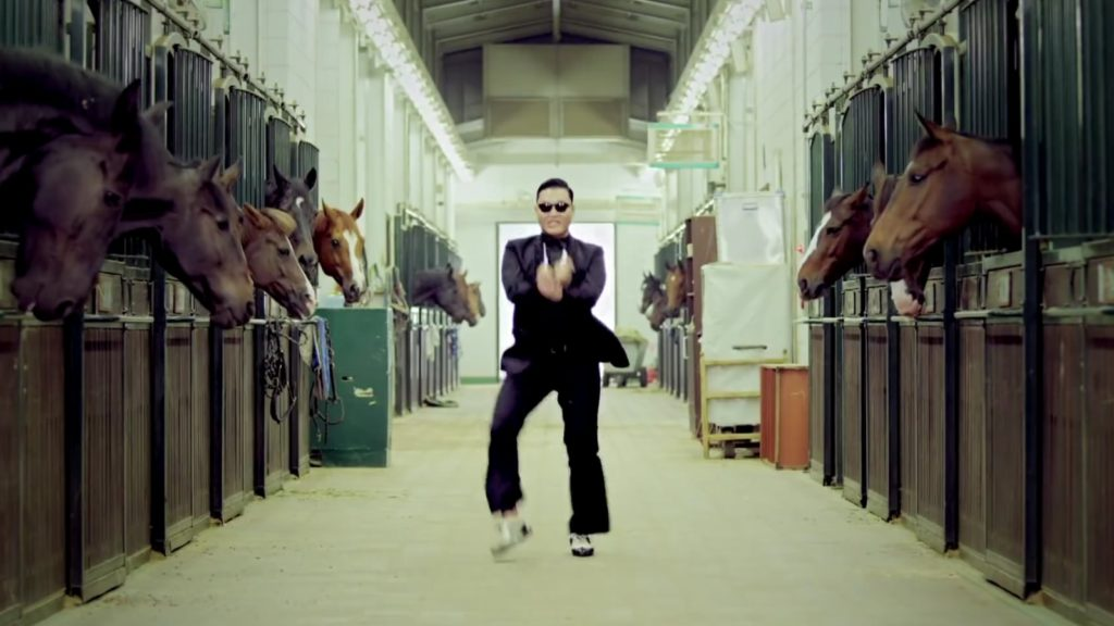 gangnam style psy video birthday
