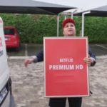 netflix man in a van ad