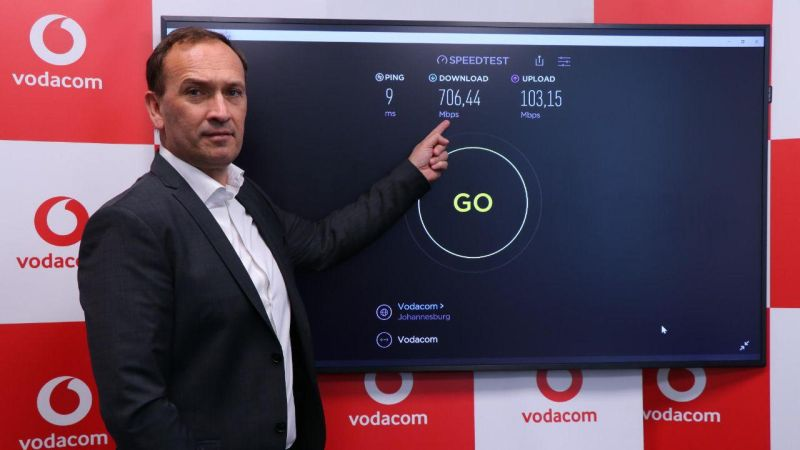 vodacom 5g network lesotho