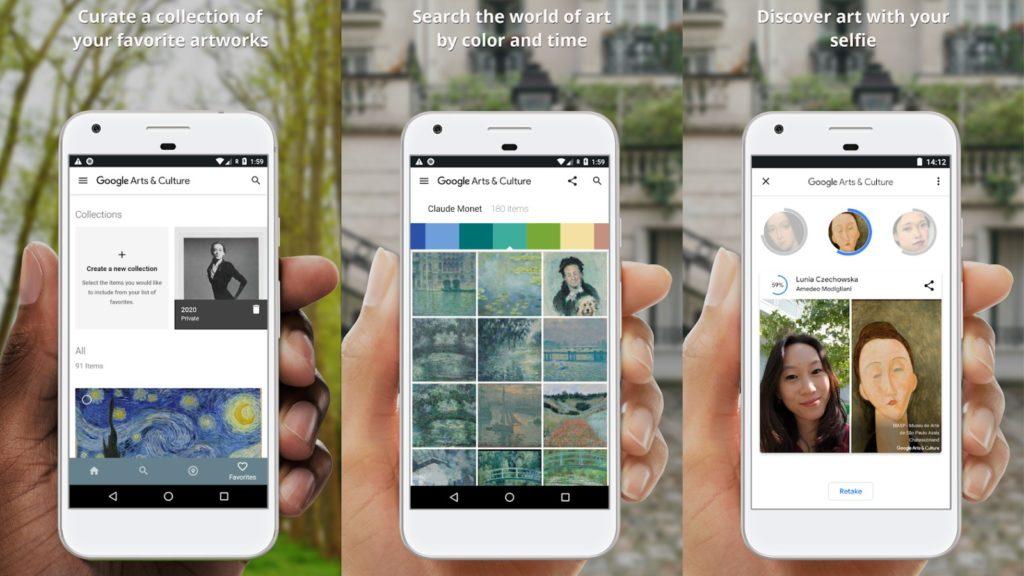art selfie google arts and culture app 1
