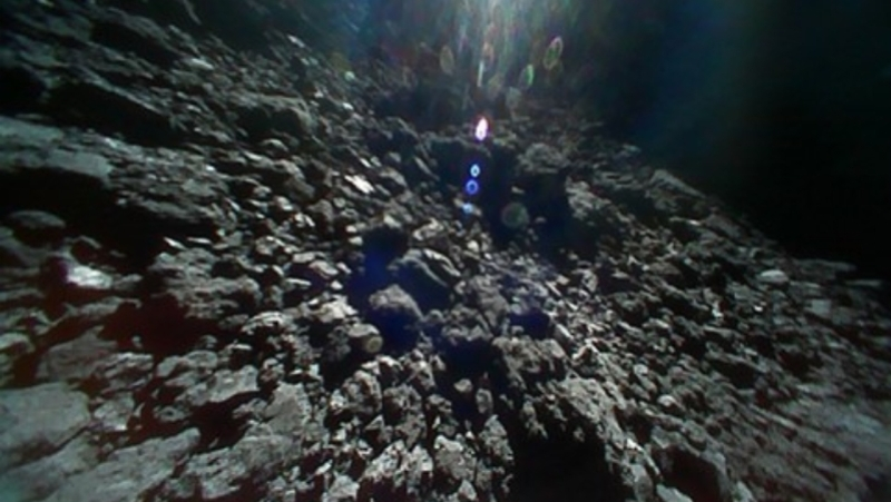 jaxa ryugu asteriod pictures september 2018