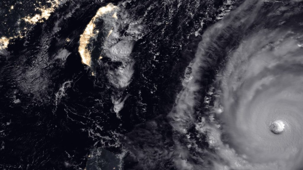 typhoon trami nasa earth observatory