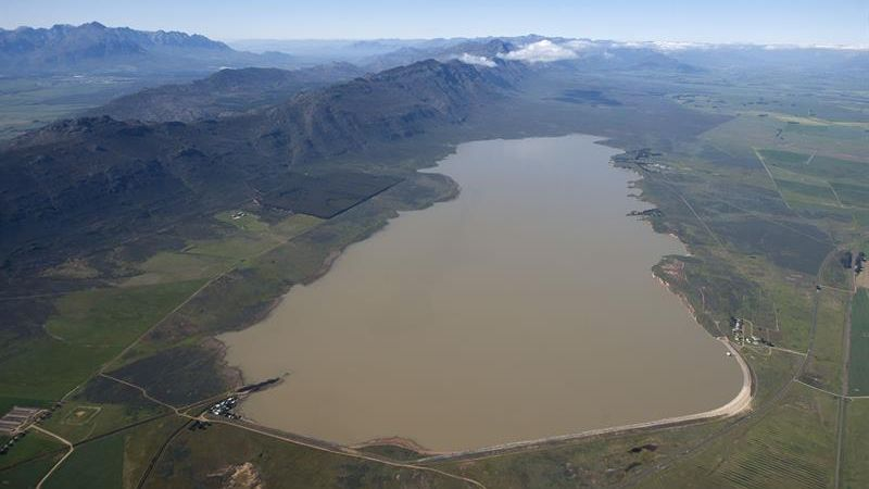 Voelvlei Dam City of Cape Town 25 September 2018