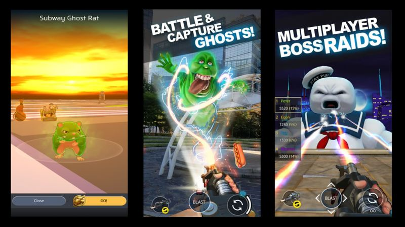 google maps ghostbusters world game