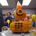 nasa jpl halloween pumpkin carving contest