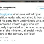 vuyo mkhize malusi gigaba opposition party tweet