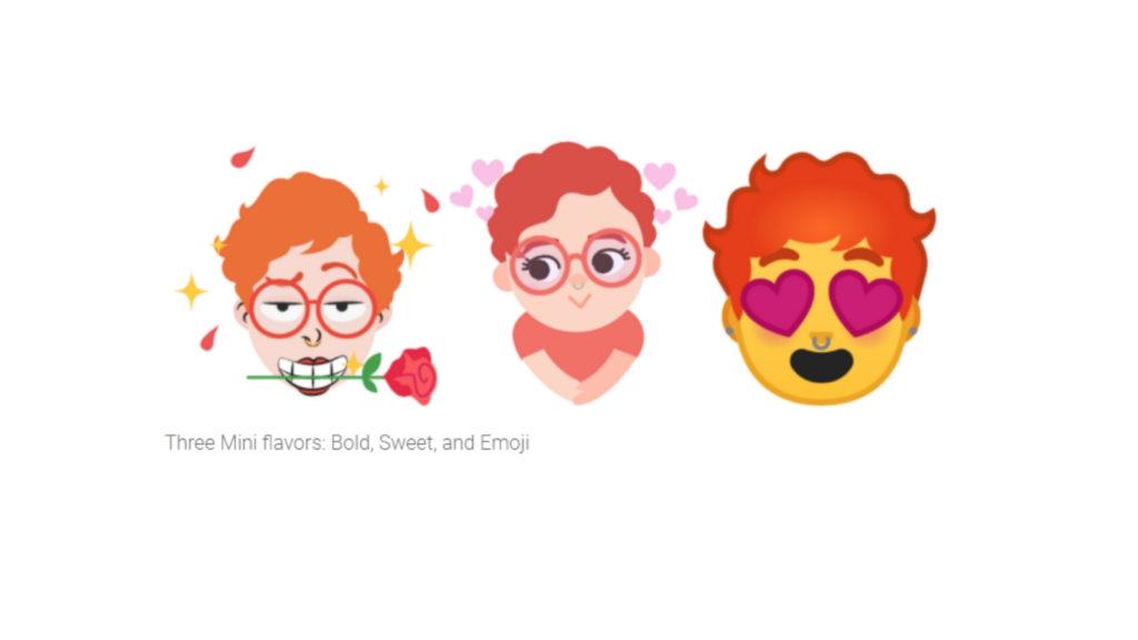 Google Gboard Mini Emoji