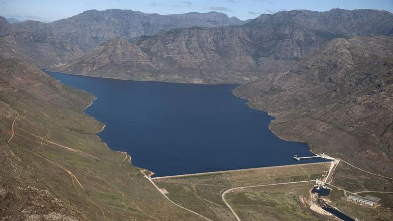 city of cape town berg river dam september 2018