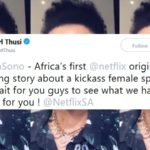 pearl thusi netflix original south africa