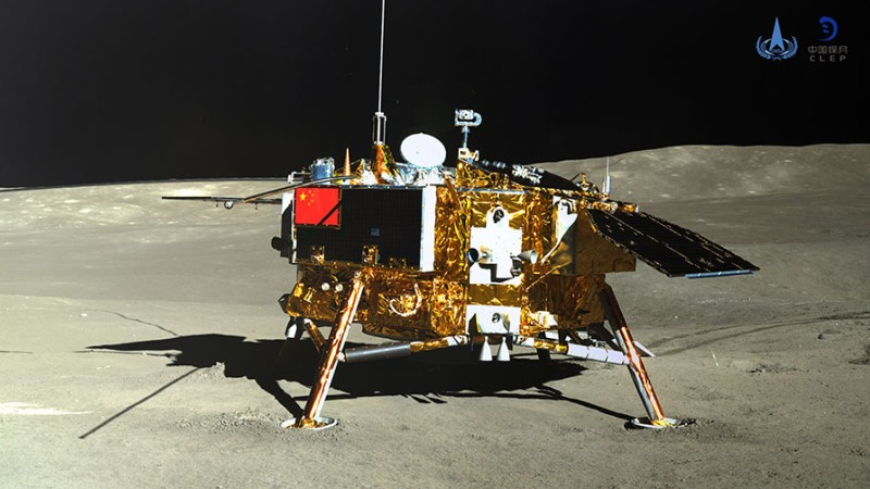 china change 4 moon lander