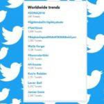 twitter birds sona 2019 trends