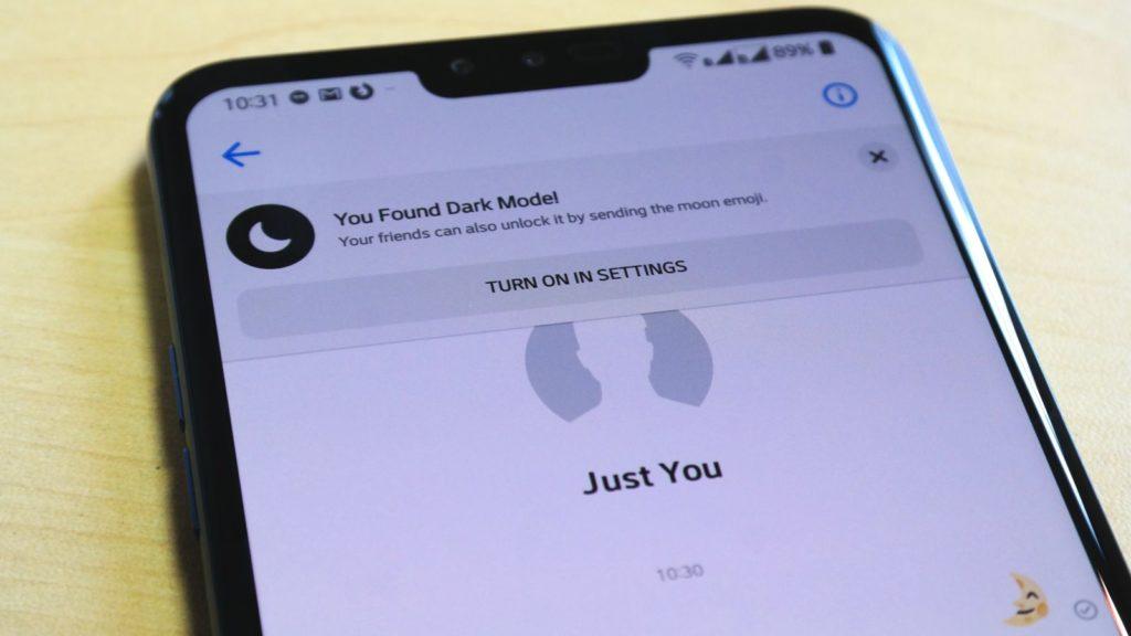 Facebook Messenger's secret dark mode is hidden behind a