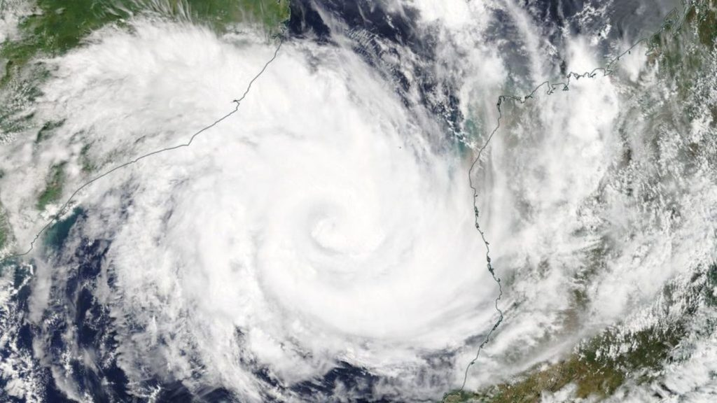 nasa cyclone idai