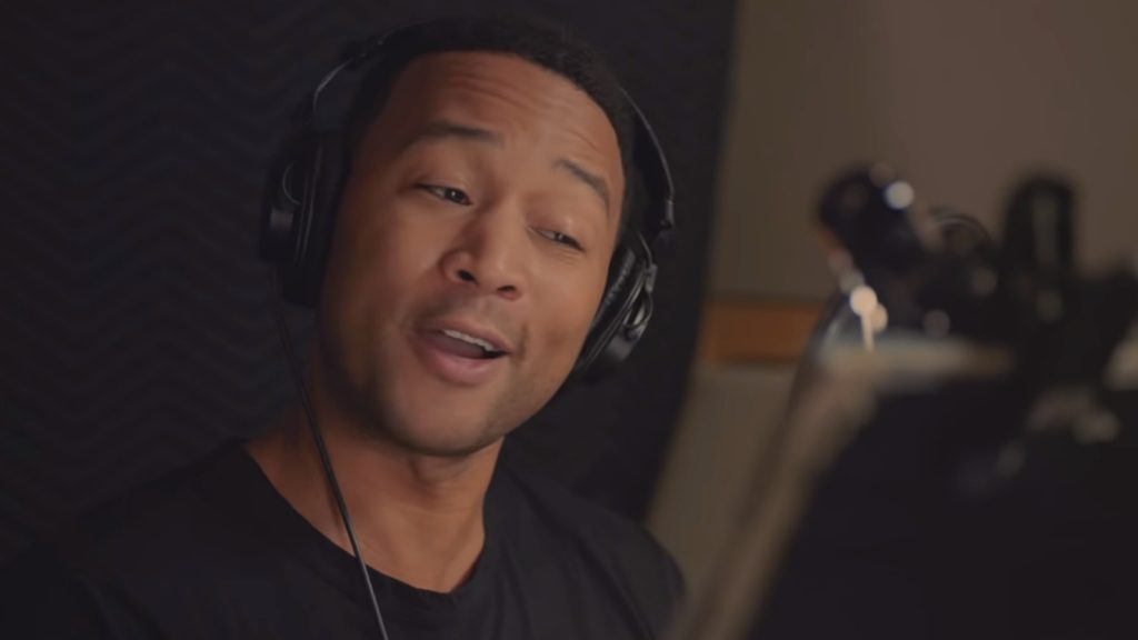 John Legend Google Assistant