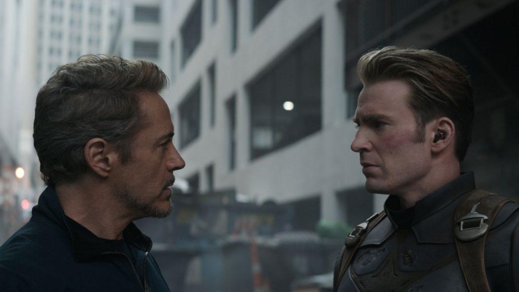 avengers endgame tony stark captain america