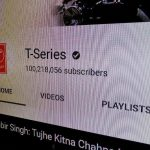 t-series youtube 100m subscribers