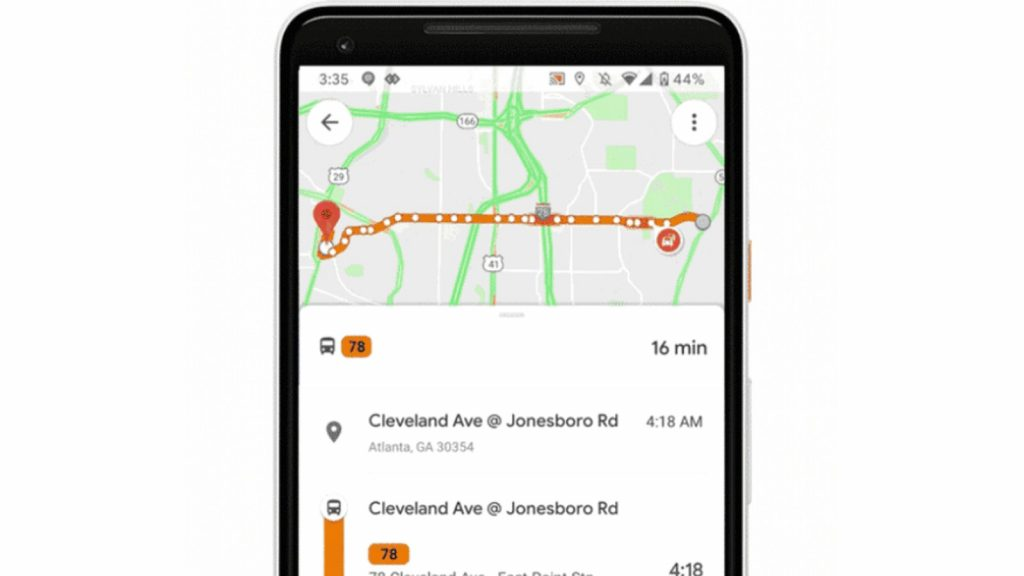 Google Maps now warns commuters of crowded trains, bus delays