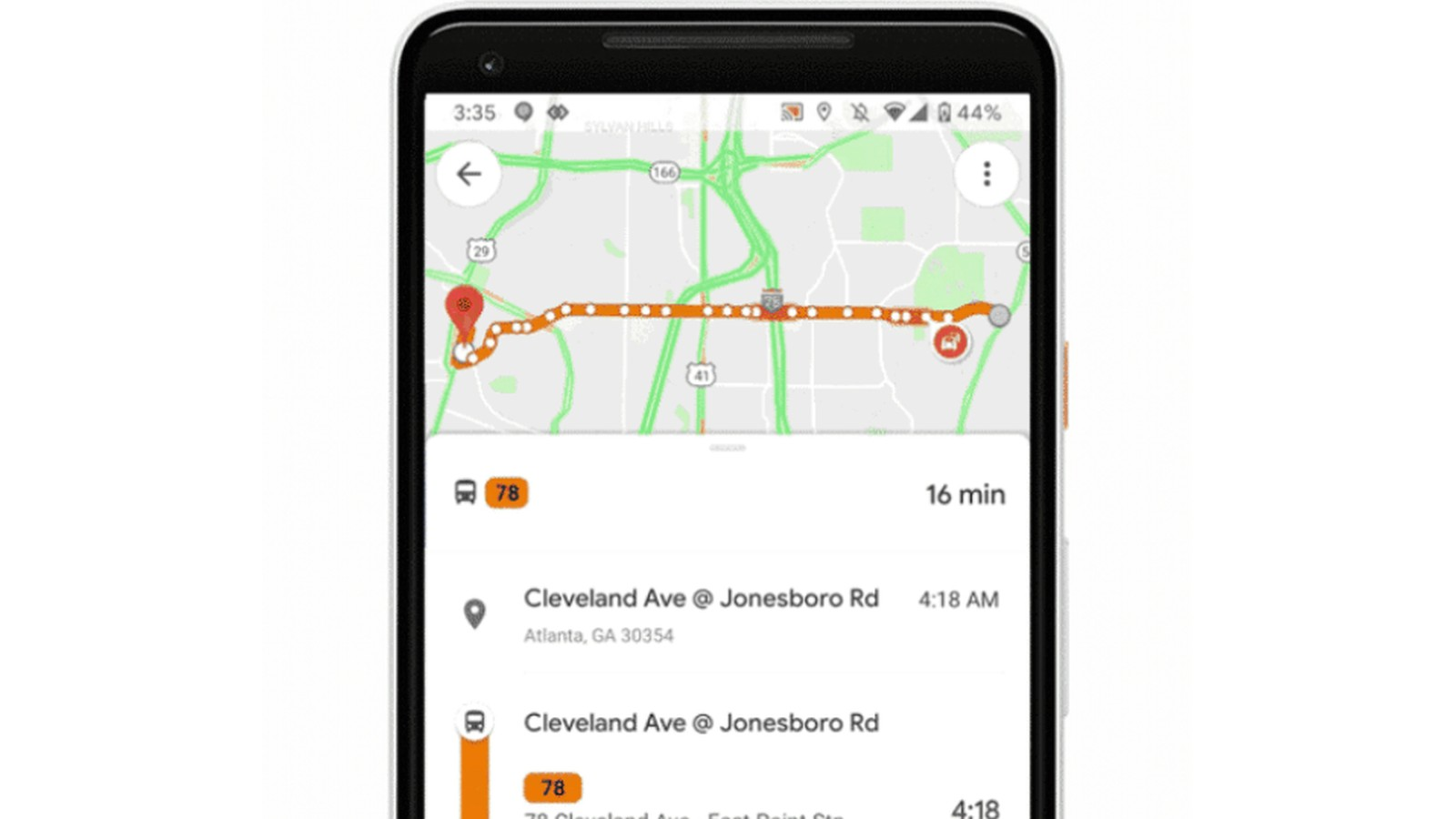 Google Maps now warns commuters of crowded trains and bus delays