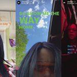 instagram stories lyrics billie eilish