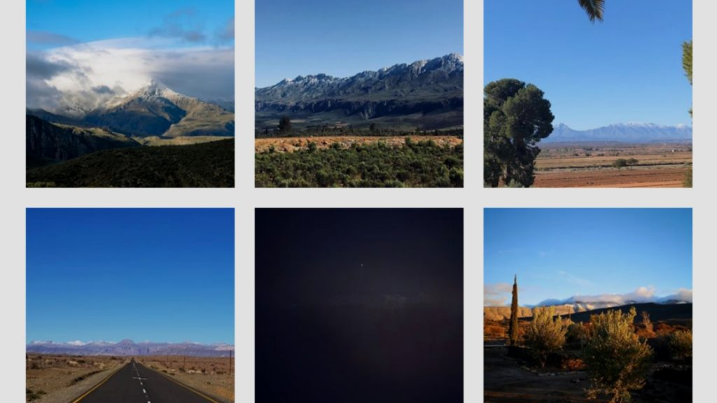 snow south africa instagram
