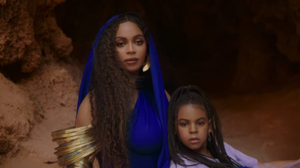 Beyonce BlueIvy Brown Skin Girl