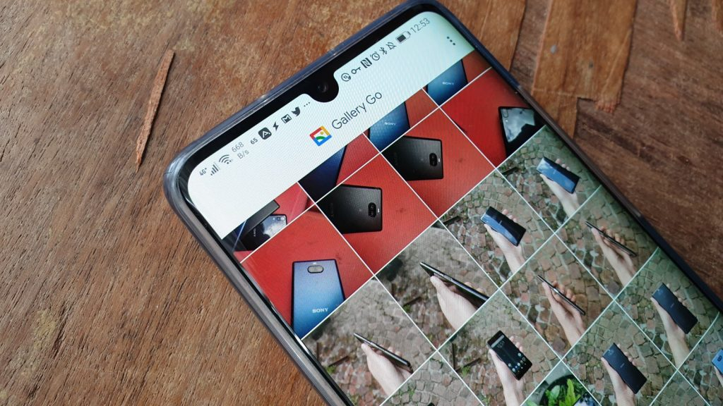 google gallery go android app