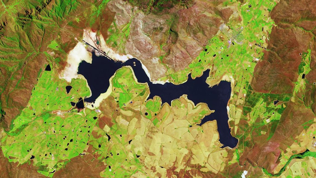 theewaterskloof dam 2017 cape town copernicus sentinel flickr