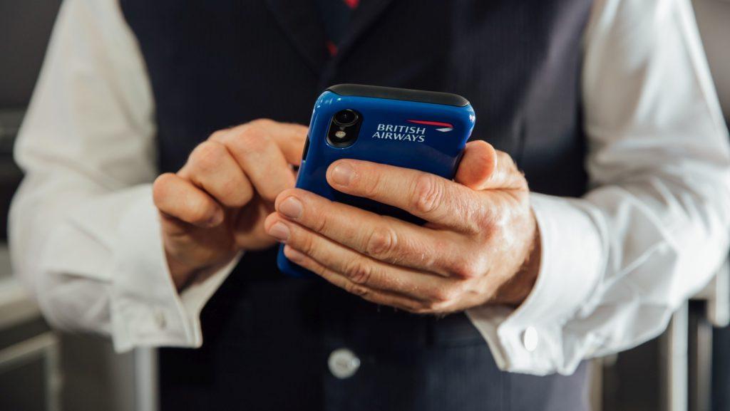 british airways iphone xr