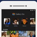 google gallery go dark mode