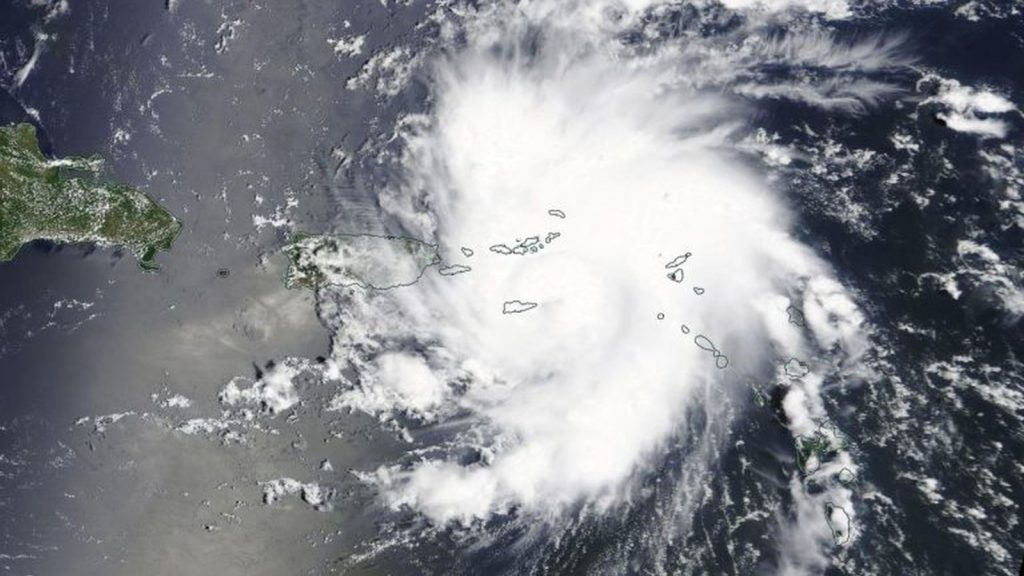 hurricane dorian nasa