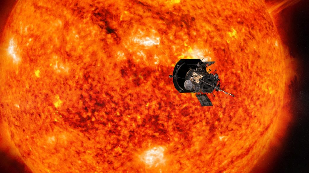 parker solar probe nasa johns hopkins steve gribben
