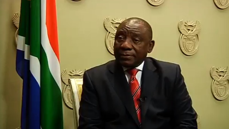 cyril ramaphosa statement violence foreigners south africa 2019