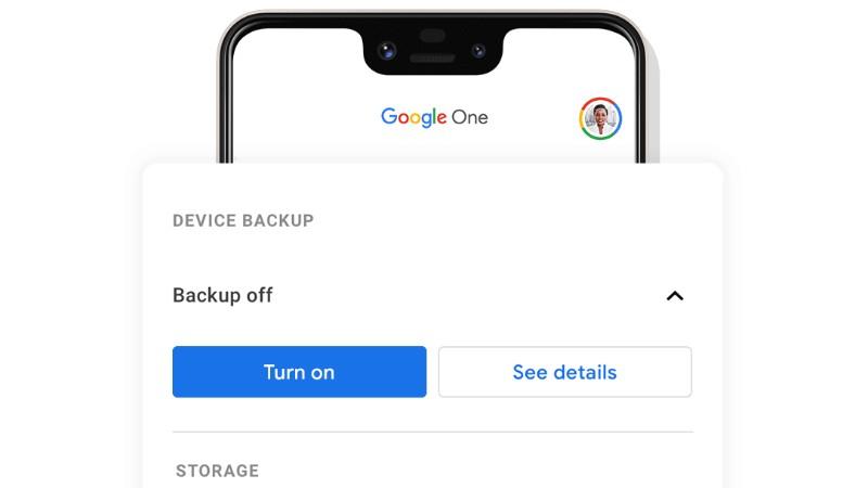 google one backups