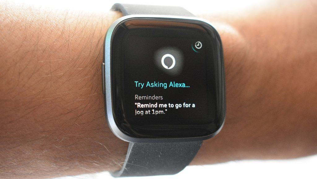 amazon alexa fitbit versa 2 1