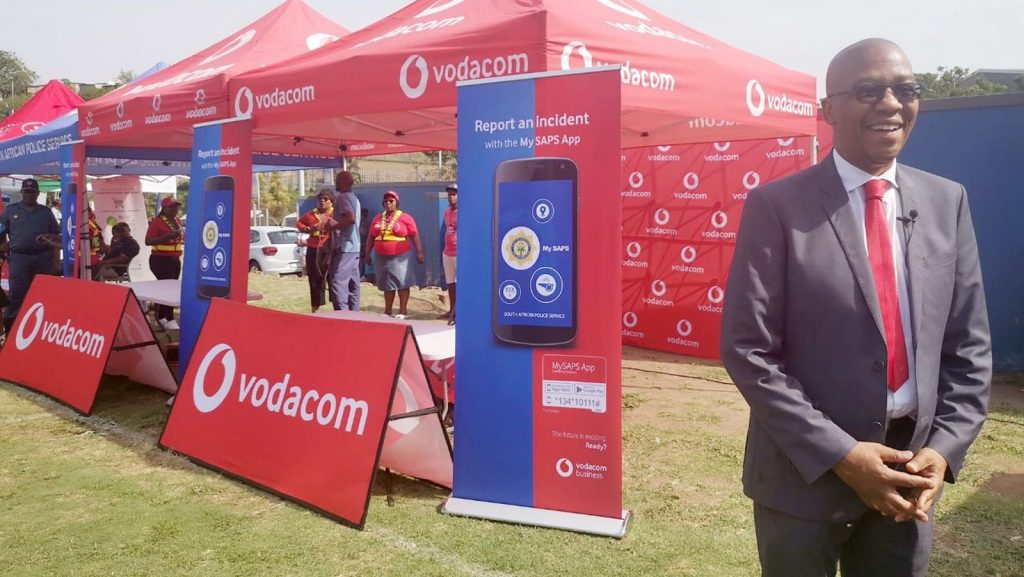 mysaps south african police app vodacom