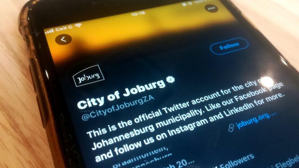 Johannesburg cyber attack