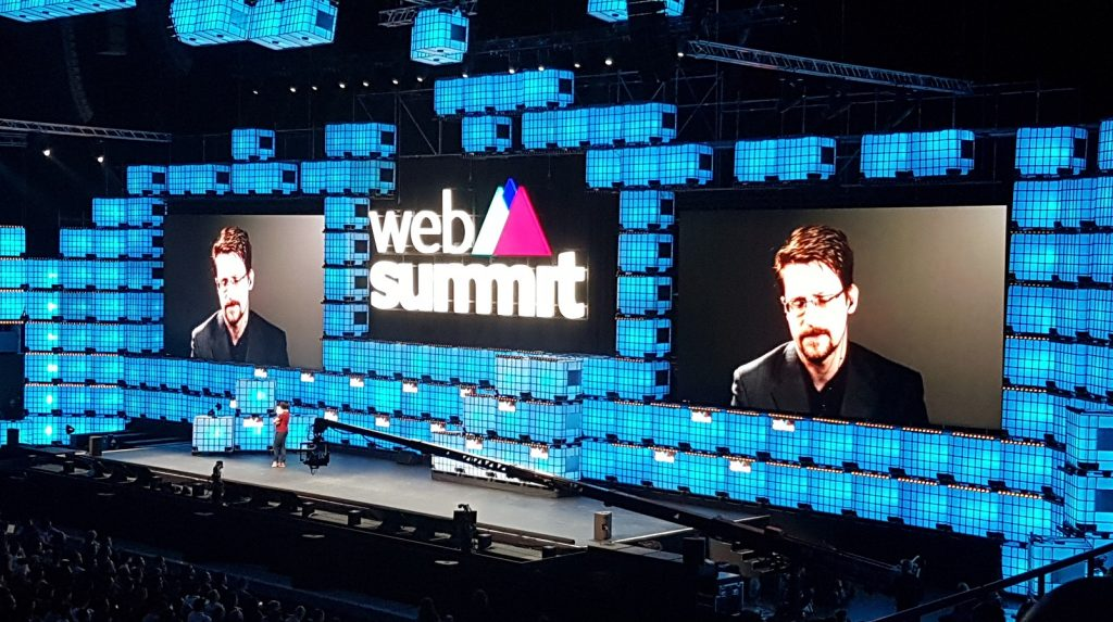 Edward Snowden Web Summit Stephen Timm