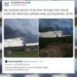 ulundi tornado saws twitter